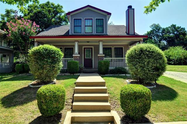 2205 College Avenue, Fort Worth, TX 76110 (MLS #14202742) :: Lynn Wilson with Keller Williams DFW/Southlake