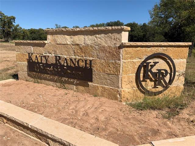 117 Katy Ranch Drive, Weatherford, TX 76085 (MLS #14202747) :: The Kimberly Davis Group