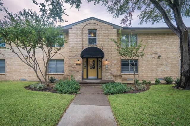 5807 Sandhurst Lane B, Dallas, TX 75206 (MLS #14202779) :: RE/MAX Town & Country