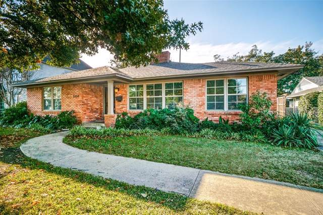 7530 Villanova Street, Dallas, TX 75225 (MLS #14202873) :: RE/MAX Town & Country