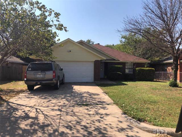 5624 Truman Drive, Fort Worth, TX 76112 (MLS #14202948) :: All Cities Realty