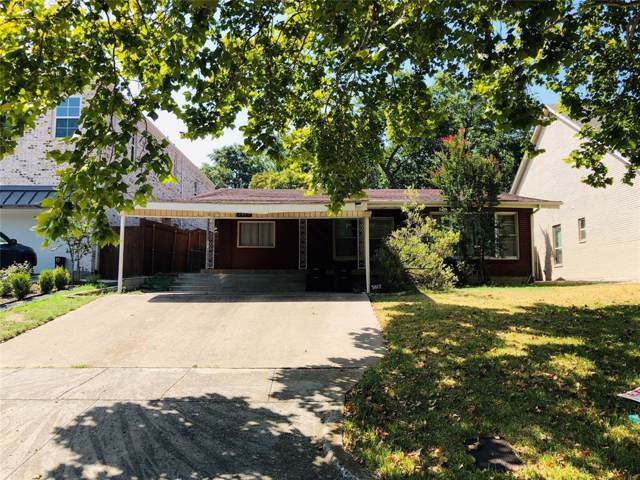 3817 Byers Avenue, Fort Worth, TX 76107 (MLS #14202973) :: The Mitchell Group