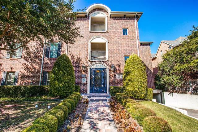 3116 Rosedale Avenue #205, University Park, TX 75205 (MLS #14202984) :: Performance Team
