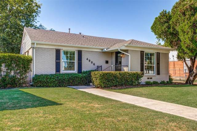 4906 Wenonah Drive, Dallas, TX 75209 (MLS #14203049) :: Lynn Wilson with Keller Williams DFW/Southlake
