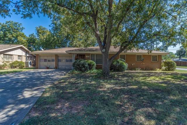 1501 Yorktown Drive, Abilene, TX 79603 (MLS #14203096) :: The Good Home Team