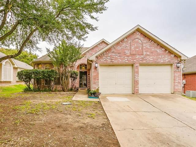 4753 Misty Ridge Drive, Fort Worth, TX 76137 (MLS #14203185) :: Lynn Wilson with Keller Williams DFW/Southlake