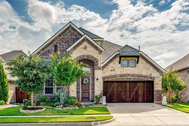 4612 Corral Drive, Carrollton, TX 75010 (MLS #14203195) :: The Good Home Team