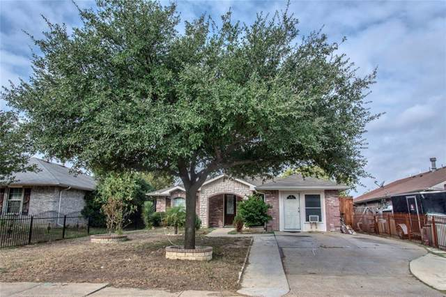 611 S Acres Drive, Dallas, TX 75217 (MLS #14203244) :: The Good Home Team