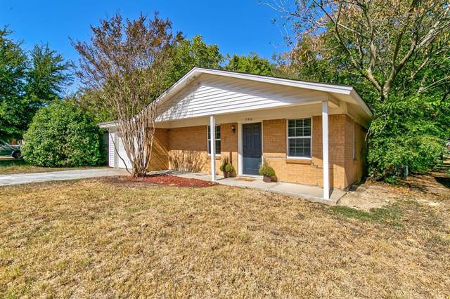 706 Euclid Street, Cleburne, TX 76033 (MLS #14203277) :: RE/MAX Town & Country