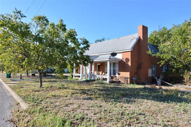 801 S Reynolds, Goldthwaite, TX 76844 (MLS #14203414) :: The Hornburg Real Estate Group