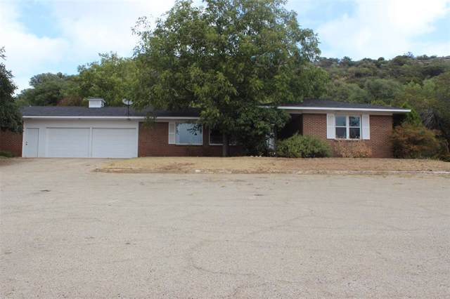 205 E Hwy 84, Santa Anna, TX 76878 (MLS #14203557) :: RE/MAX Town & Country