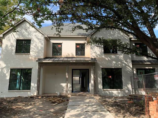 4436 Grassmere Lane, University Park, TX 75205 (MLS #14203745) :: HergGroup Dallas-Fort Worth