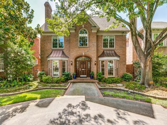 4373 San Carlos Street, University Park, TX 75205 (MLS #14203753) :: Performance Team