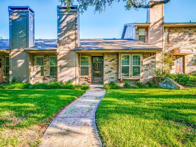 7607 Pebblestone Drive #9, Dallas, TX 75230 (MLS #14203783) :: Robbins Real Estate Group