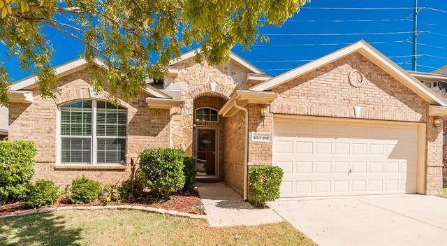 15720 Wheelhorse Trail, Fort Worth, TX 76262 (MLS #14203825) :: Tenesha Lusk Realty Group