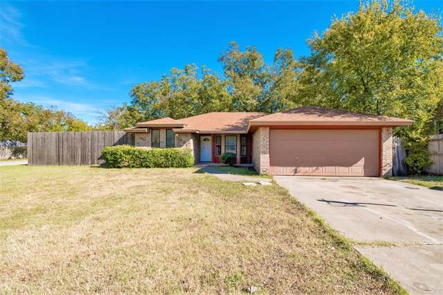 401 Pemberton Drive, White Settlement, TX 76108 (MLS #14203888) :: The Tierny Jordan Network
