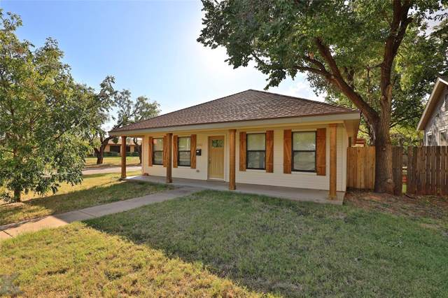 1242 S Willis Street, Abilene, TX 79605 (MLS #14203911) :: The Good Home Team