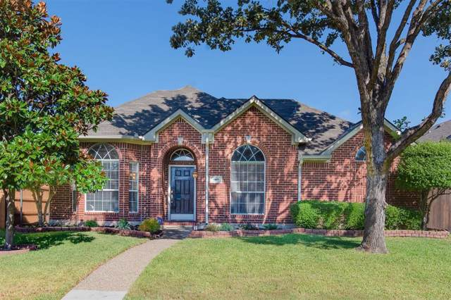 4805 Bull Run Drive, Plano, TX 75093 (MLS #14203979) :: Kimberly Davis & Associates