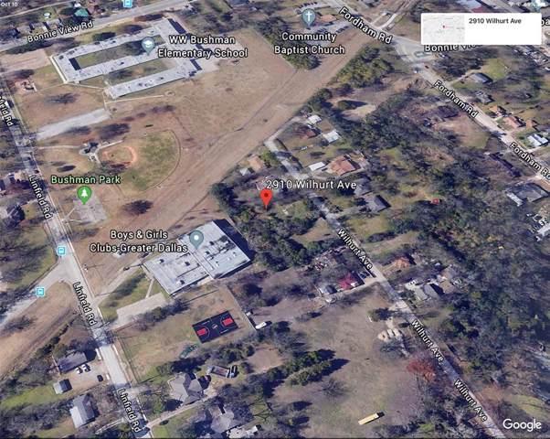 2910 Wilhurt Avenue, Dallas, TX 75216 (MLS #14203983) :: Kimberly Davis & Associates