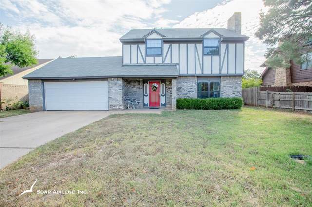 725 Parsons Road, Abilene, TX 79602 (MLS #14203999) :: The Good Home Team