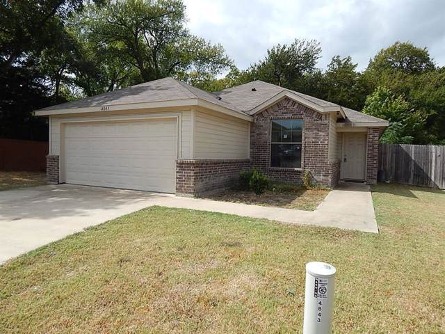 4843 Pachuca Court, Dallas, TX 75236 (MLS #14204103) :: Lynn Wilson with Keller Williams DFW/Southlake