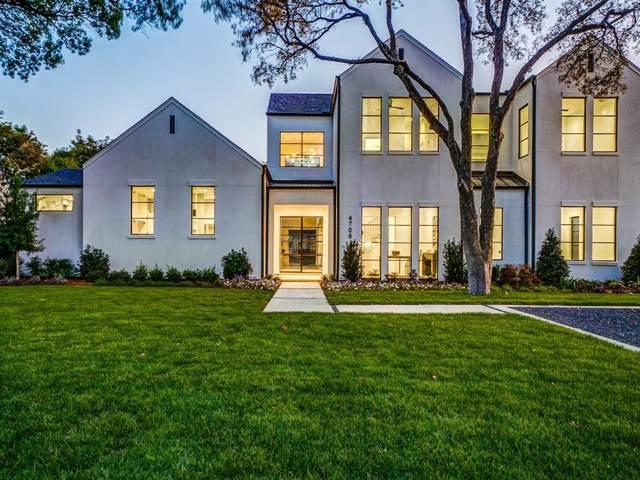 4708 Myerwood Lane, Dallas, TX 75244 (MLS #14204128) :: Kimberly Davis & Associates