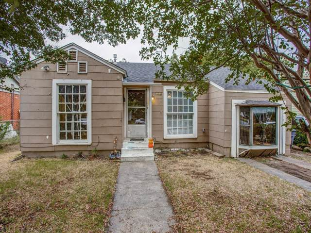 1215 S Marlborough Avenue, Dallas, TX 75208 (MLS #14204139) :: Lynn Wilson with Keller Williams DFW/Southlake