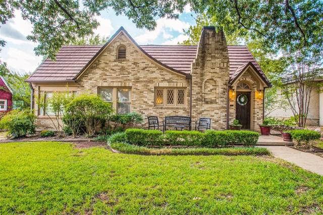 1608 Frederick Street, Fort Worth, TX 76107 (MLS #14204179) :: RE/MAX Town & Country