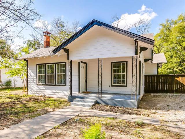 404 Poindexter Avenue, Cleburne, TX 76033 (MLS #14204220) :: RE/MAX Town & Country