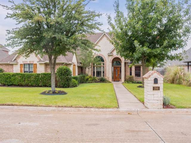 200 Bluff View Court, Aledo, TX 76008 (MLS #14204235) :: The Good Home Team