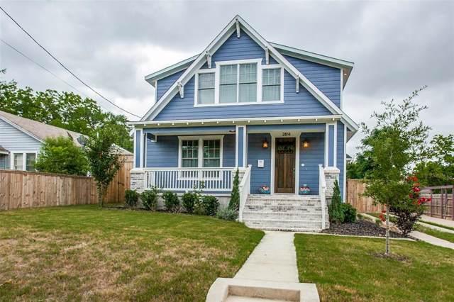 2814 W Brooklyn Avenue, Dallas, TX 75211 (MLS #14204269) :: Vibrant Real Estate