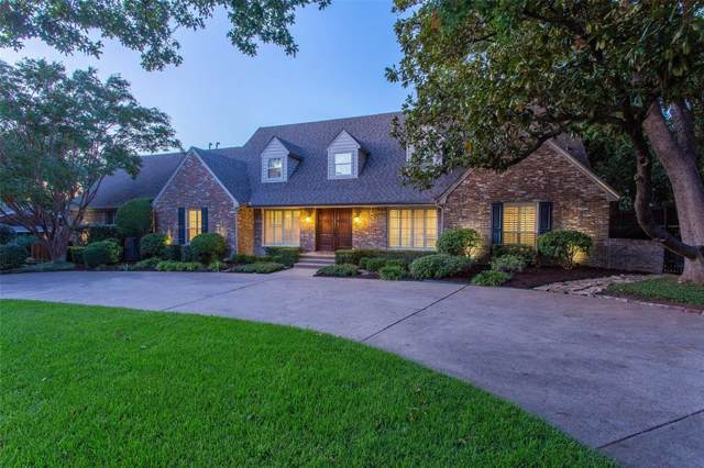 7509 Maplecrest Drive, Dallas, TX 75254 (MLS #14204271) :: RE/MAX Pinnacle Group REALTORS