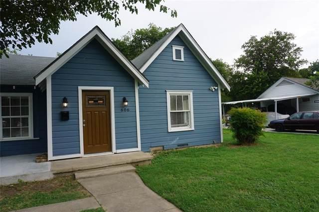 606 W Congress Street, Denton, TX 76201 (MLS #14204338) :: Lynn Wilson with Keller Williams DFW/Southlake