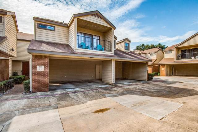 5100 Verde Valley Lane #138, Dallas, TX 75254 (MLS #14204384) :: RE/MAX Town & Country