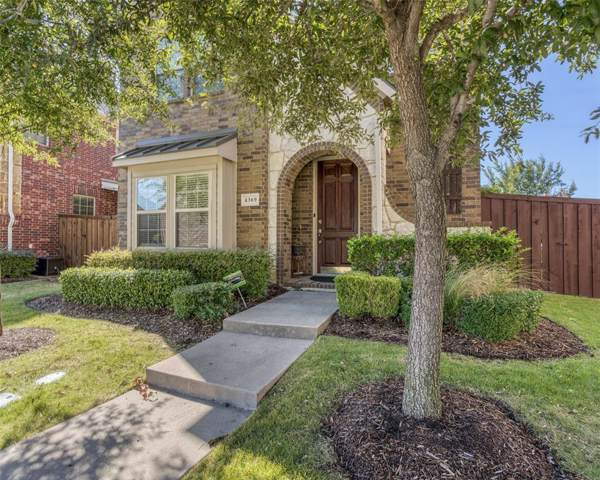 4369 Kestrel Way, Carrollton, TX 75010 (MLS #14204439) :: RE/MAX Town & Country