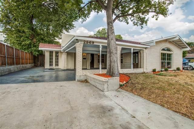 2969 Townsend Drive, Dallas, TX 75229 (MLS #14204450) :: Kimberly Davis & Associates