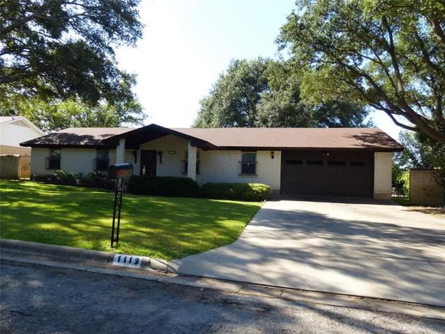 1113 W 12th, Brady, TX 76825 (MLS #14204584) :: Lynn Wilson with Keller Williams DFW/Southlake