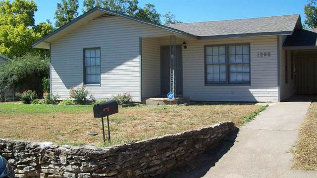 1205 Grace Street, Weatherford, TX 76086 (MLS #14204717) :: Real Estate By Design