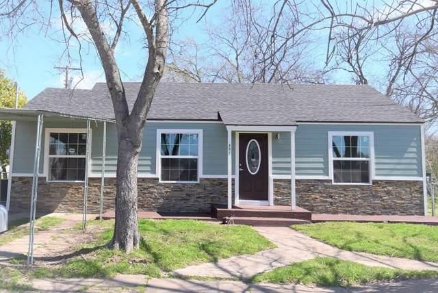 201 S Madison Street, Kaufman, TX 75142 (MLS #14204747) :: The Good Home Team