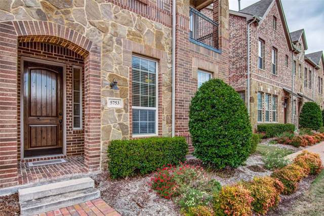 5753 Knox Drive, Plano, TX 75024 (MLS #14204798) :: RE/MAX Town & Country
