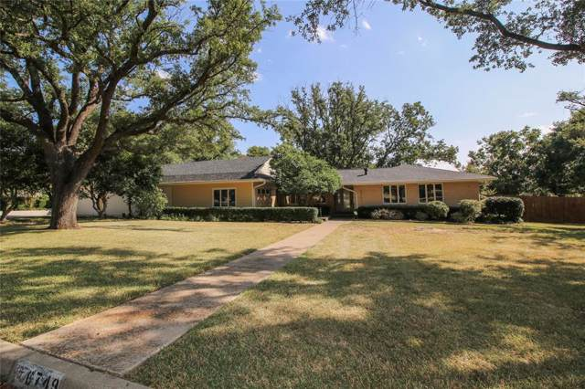 6749 Hanover Road, Fort Worth, TX 76116 (MLS #14204892) :: The Mitchell Group