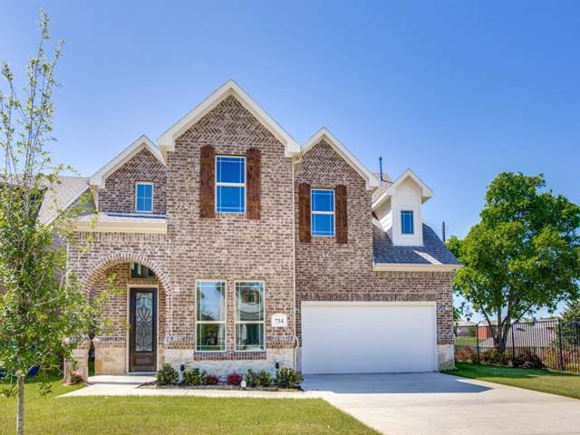 734 Mulberry Court, Celina, TX 75009 (MLS #14204925) :: The Tierny Jordan Network