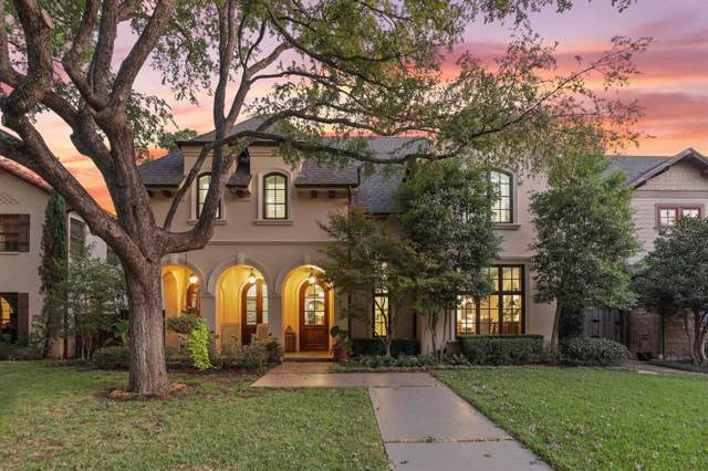 4113 Colgate Avenue, University Park, TX 75225 (MLS #14204980) :: HergGroup Dallas-Fort Worth