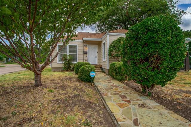 4036 Valentine Street, Fort Worth, TX 76107 (MLS #14204986) :: RE/MAX Town & Country