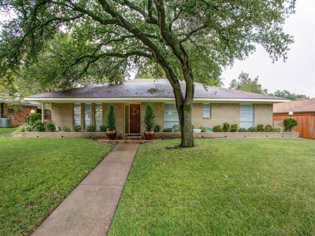 1725 Northcrest Drive, Plano, TX 75075 (MLS #14205086) :: The Heyl Group at Keller Williams