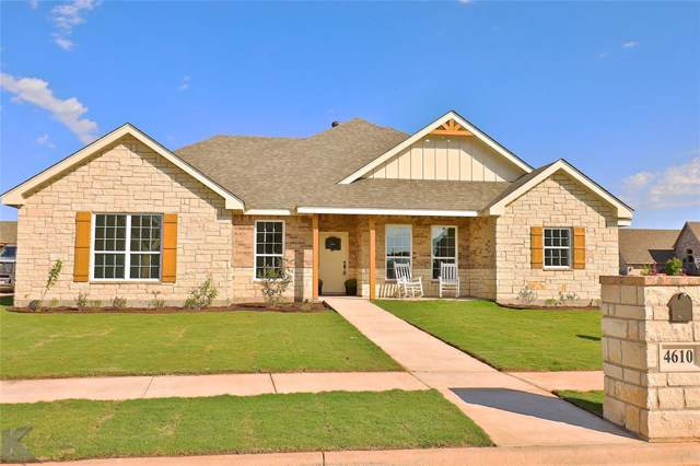 4610 Vista Del Sol, Abilene, TX 79606 (MLS #14205169) :: The Tierny Jordan Network