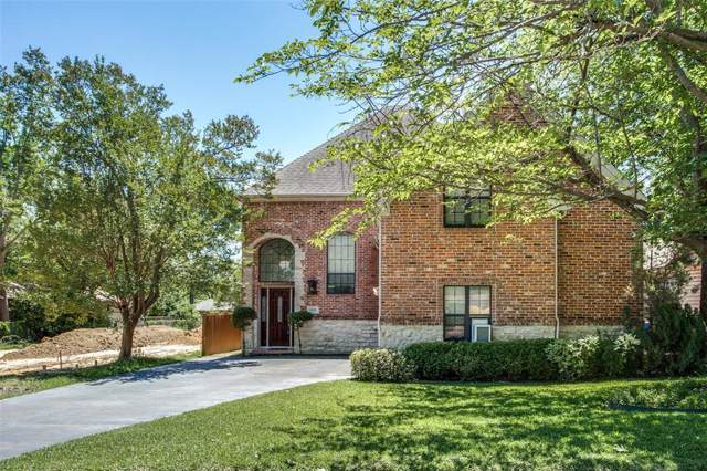 6026 Llano Avenue, Dallas, TX 75206 (MLS #14205176) :: RE/MAX Town & Country