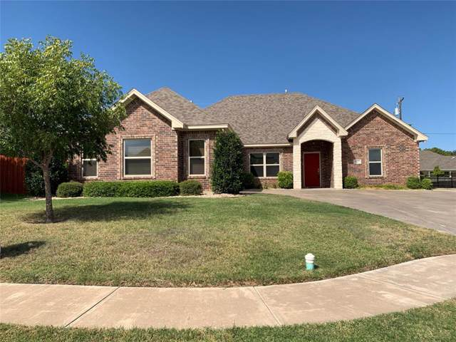 1606 Belle Plain Drive, Cleburne, TX 76033 (MLS #14205205) :: The Rhodes Team