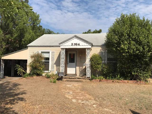 3764 W 5th Street, Fort Worth, TX 76107 (MLS #14205231) :: RE/MAX Town & Country