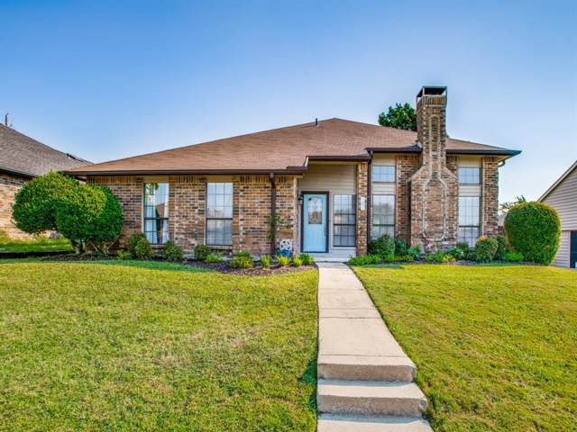 4 Kean Circle, The Colony, TX 75056 (MLS #14205240) :: Vibrant Real Estate